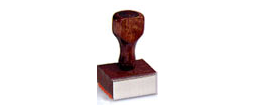 01NS - Rubber stamp notary
